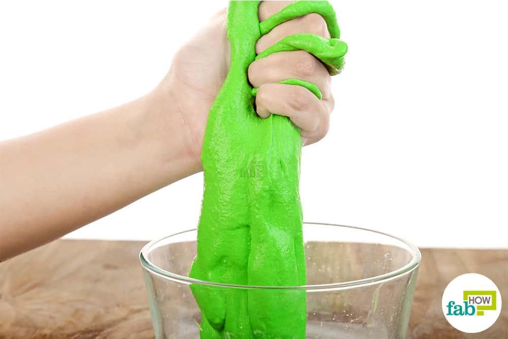 Use borax to make slime