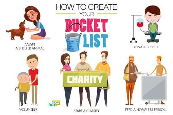 Use these tips to create your bucket list