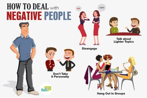 Learn how to deal with negative people