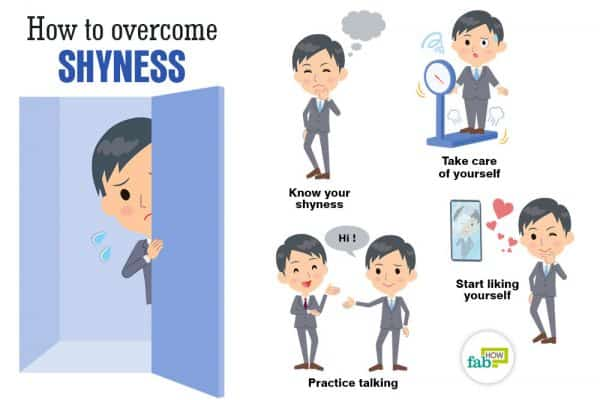 Learn how to overcome shyness