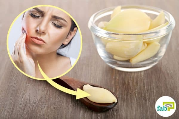 Tooth Pain Relief >> How to Use Garlic for Tooth Abscess, Gum Infection and Pain | Fab How