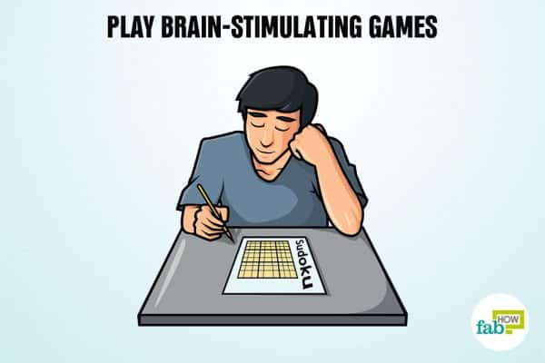play brain-stimulating games to remember anything