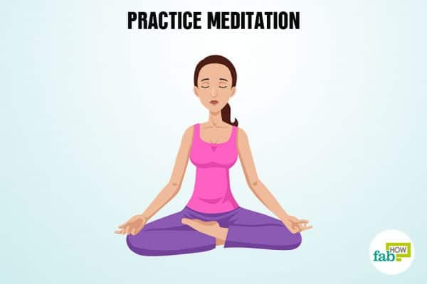 Practice meditation to remember anything