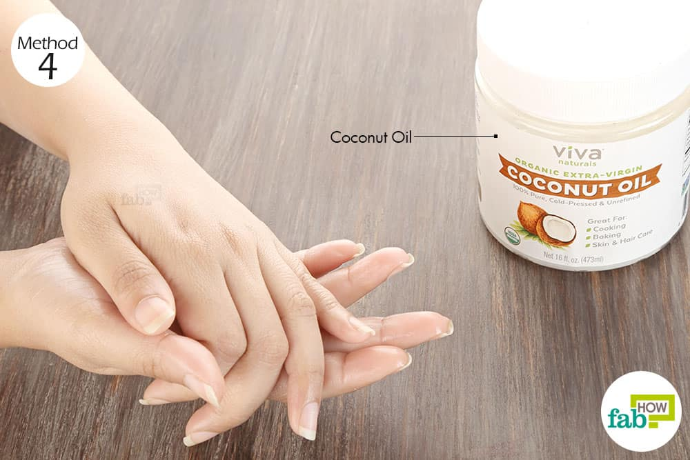 Massage extra-virgin coconut oil into the affected skin thrice daily to get rid of itchy skin