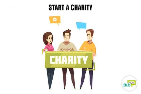 Create your bucket list and start a charity