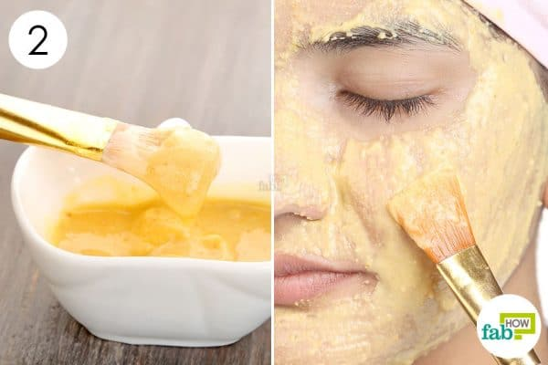 Apply orange peel face mask for glowing skin