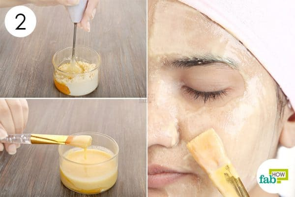 Apply aloe vear-gram flour mask for glowing skin
