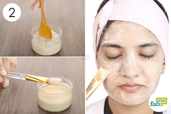 Apply green tea face mask for glowing skin