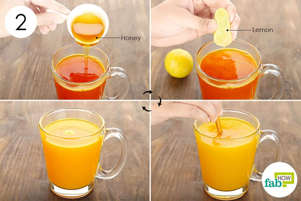 Drinking Juice With A Sore Throat