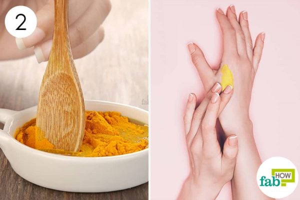 Use turmeric for health-mix well and apply to treat cellulitis