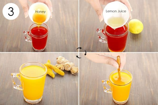 Add in honey and lemon to use ginger for cold or flu