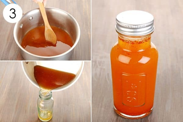 Mix well and store to use ginger for cold or flu