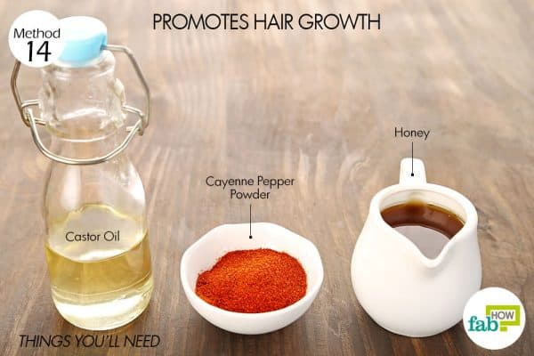 Things needed to use cayenne pepper for hair growth