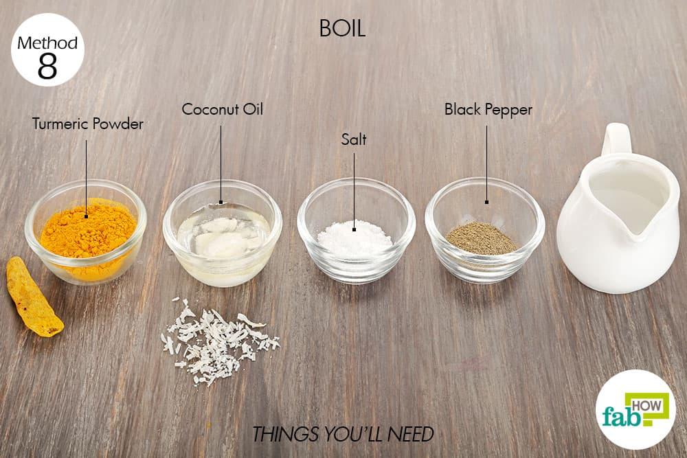 how to use white turmeric