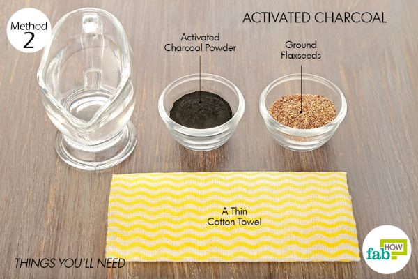 things you'll need to use activated charcoal to get rid of cellulitis