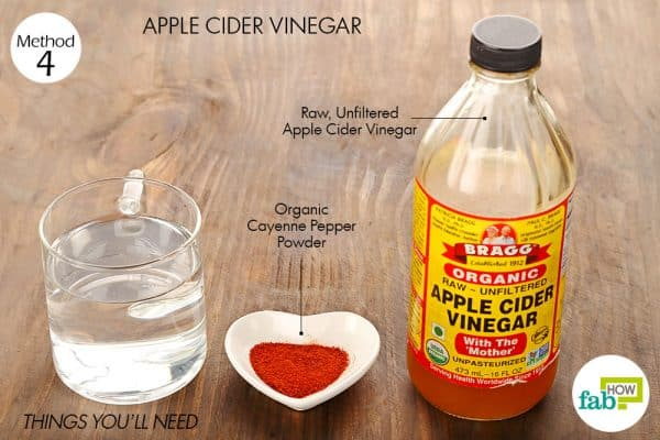 things you'll need to use apple cider vinegar to treat diverticulitis