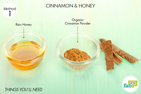 things you'll need to use cinnamon for acne