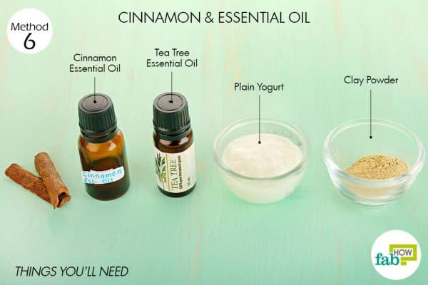 things you'll need to use cinnamon and essential oils for acne