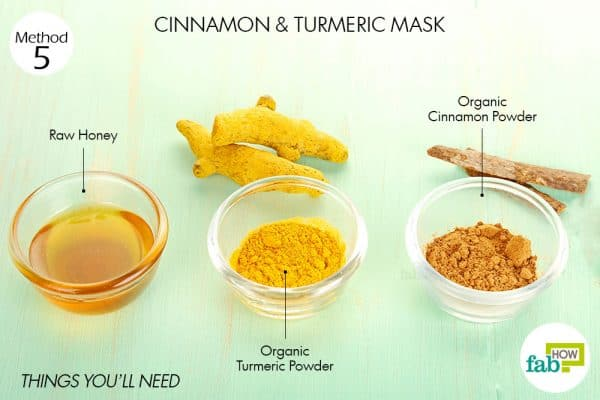 things you'll need to use cinnamon and turmeric for acne