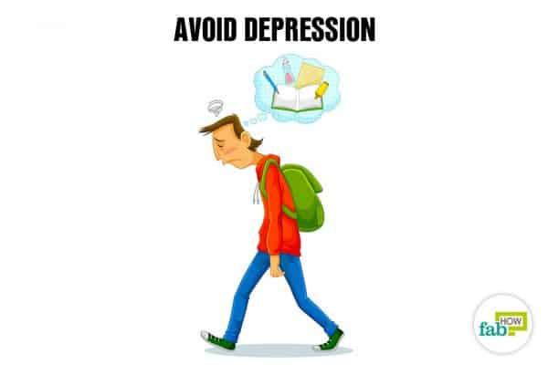 avoid depression to cope with exam failure