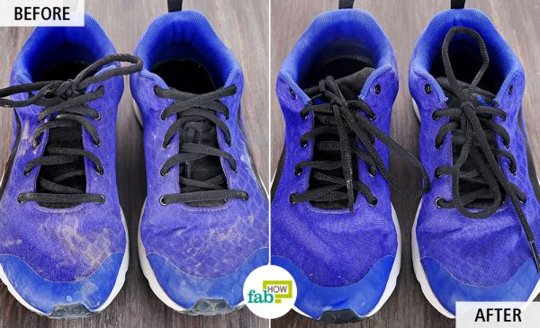 Learn the right way to clean your running shoes