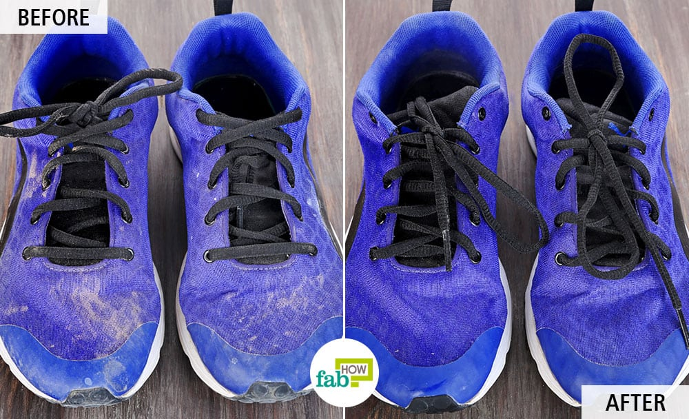 How to clean running shoes the right way make them look new fab how - How to clean shoes ...