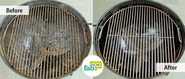 Use Dawn dish soap to clean your charcoal grill successfully