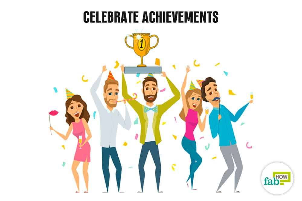 Celebrate achievements to boost your self-esteem and self-confidence