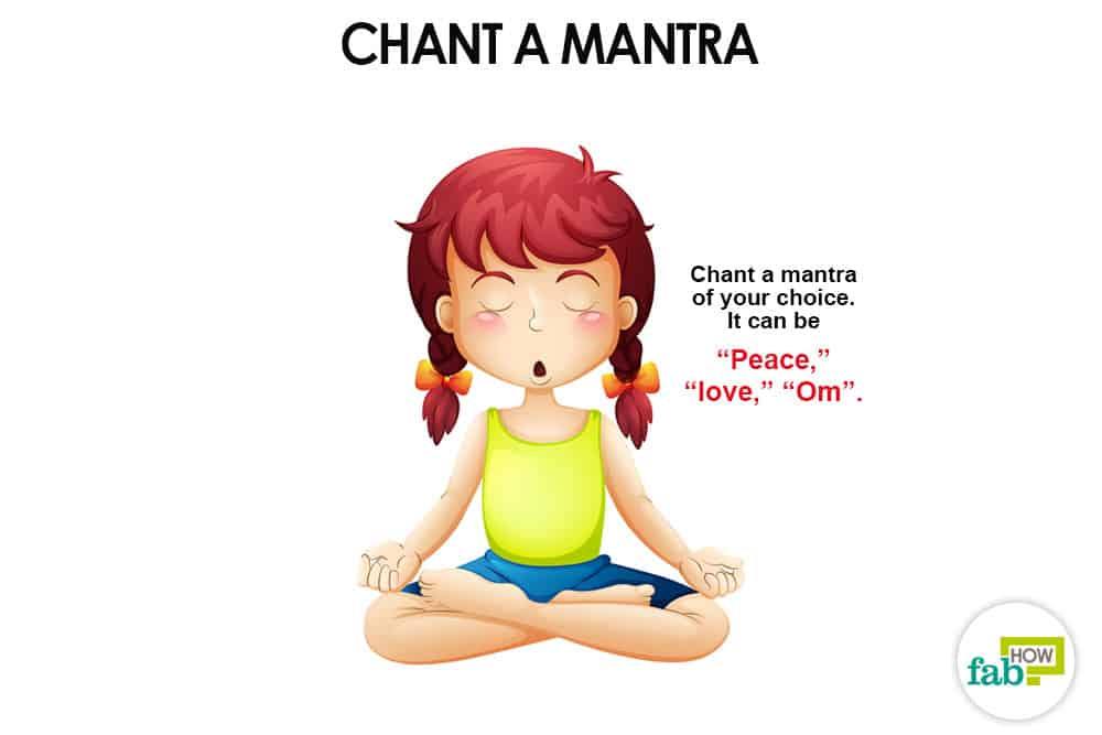Chant a mantra of your choice to start meditation for beginners