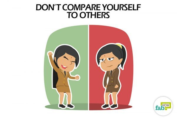Don't compare yourself to others to be at peace with yourself