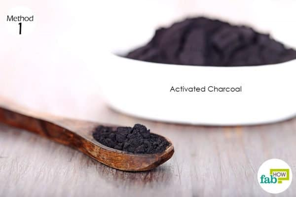 Mix 1 teaspoon of activated charcoal powder in a glass of water and drink to use activated charcoal for health