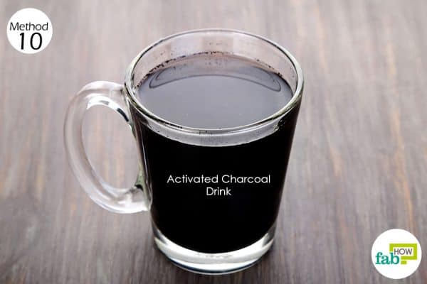 Use activated charcoal for health-to get rid of kidney pain