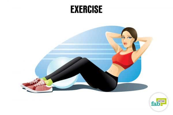 Exercise in order to relax and de-stress your mind and body