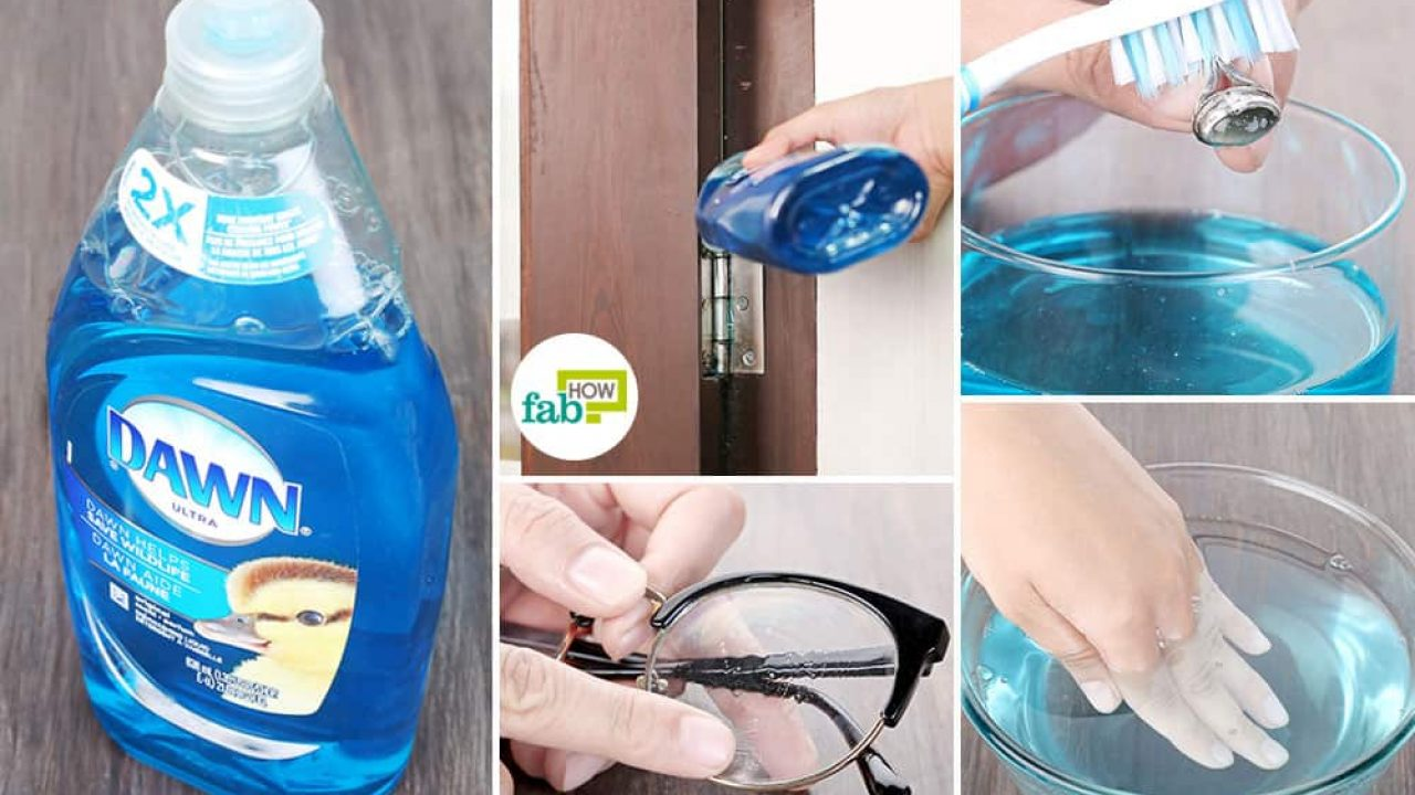 How To Clean Glass Shower Doors With Vinegar And Dawn 17 ways to use dawn dish soap for cleaning, pest control and
