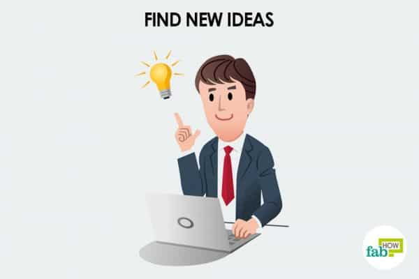 Search for new ideas to motivate yourself