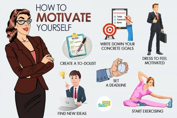 Learn how to motivate yourself