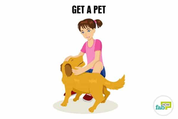 Get a pet to boost your self-esteem and self-confidence