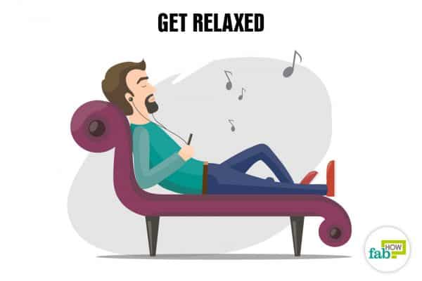 Relax to boost your self-esteeem and confidence