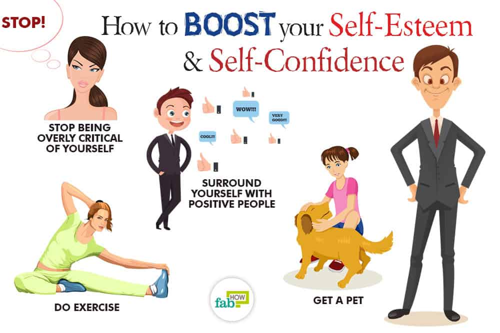 how to boost your self esteem and self confidence 40 killer tips