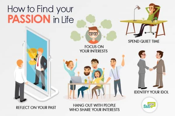Follow these tips to find your passion in life
