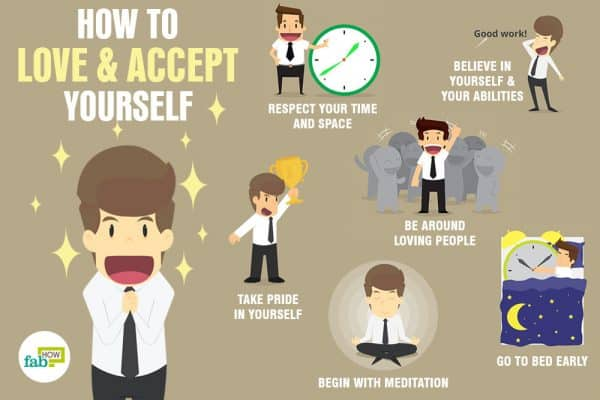 Learn how to love and accept yourself for who you are
