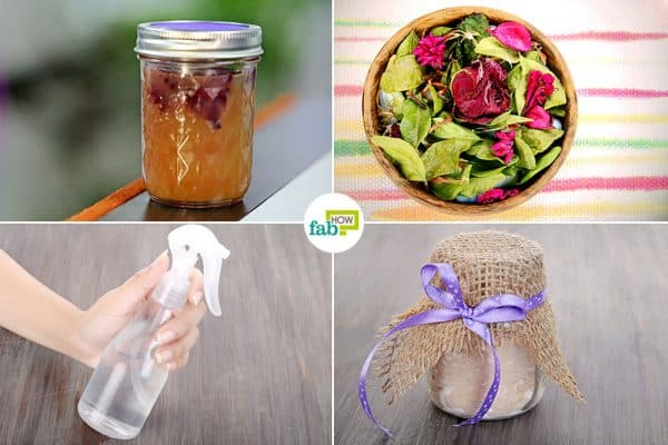 Learn how to make DIY air freshener
