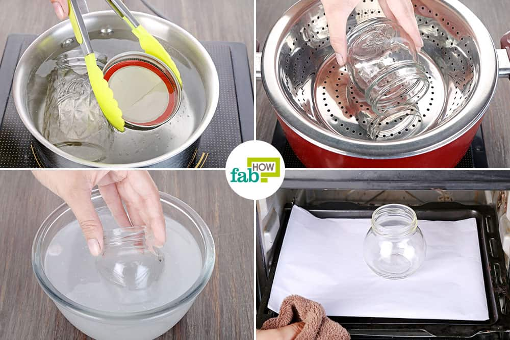 How to sterilize glass jars and bottles 6 ways to prevent for How long to sterilize canning jars