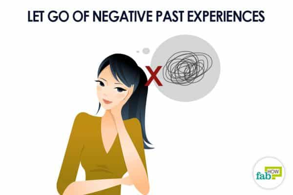 Let go of the past to attract good luck and fortune