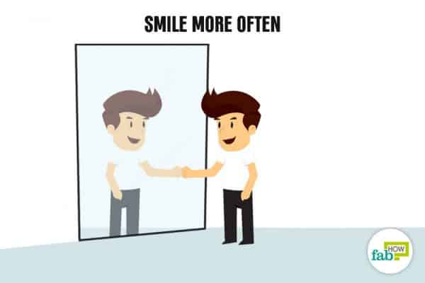 Smile more often to boost your self-esteem and self-confidence