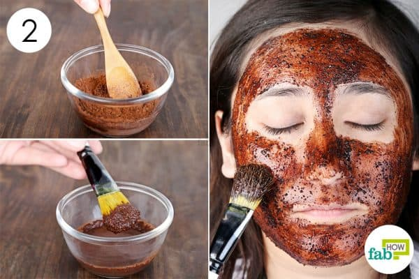 Mix well and apply the face mask for beautiful skin