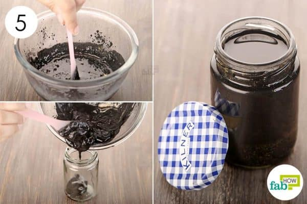 Mix thoroughly and use it to draw out skin infections-use activated charcoal for health