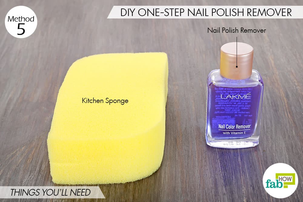 9 clever sponge hacks you must try out for yourself fab how nail polish remover things youll need things needed for diy solutioingenieria Images