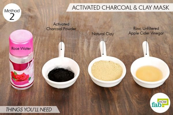 things you'll need to make clay face mask for beautiful skin