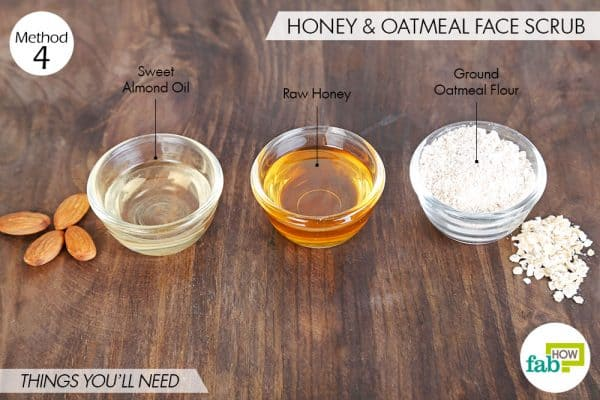 things you'll need to make oatmeal face mask for beautiful skin